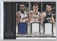 Ben Gordon, Goran Dragic, J.J. Barea