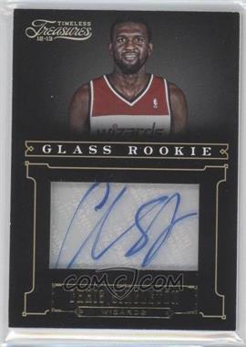 2012-13 Panini Timeless Treasures - [Base] - Gold #163 - Glass Rookie Autographs - Chris Singleton /10