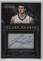 Glass Rookie Autographs - Jimmer Fredette /25
