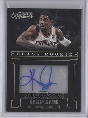 2012-13 Panini Timeless Treasures - [Base] - Silver #212 - Glass Rookie Autographs - Kyrie Irving /25