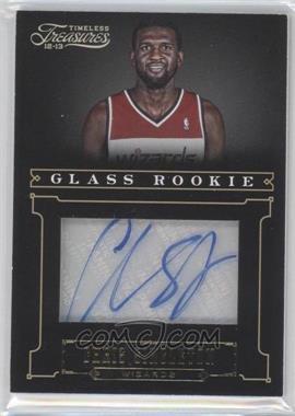 2012-13 Panini Timeless Treasures Gold #163 - Glass Rookie Autographs - Chris Singleton /10