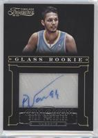 Glass Rookie Autographs - Evan Fournier /25