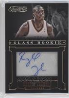 Glass Rookie Autographs - Reggie Jackson /499