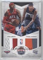 Tyrus Thomas, Josh Smith /25