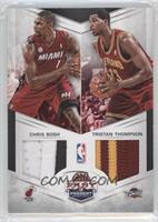 Chris Bosh, Tristan Thompson /25
