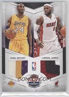Kobe Bryant, Lebron James /25