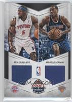 Ben Wallace, Marcus Camby /99