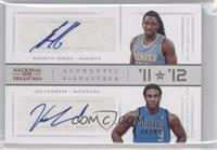 Jae Crowder, Kenneth Faried /49