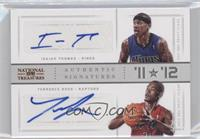Isaiah Thomas, Terrence Ross /99