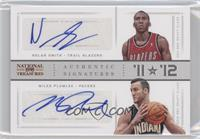Miles Plumlee, Nolan Smith /99