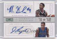 Jared Cunningham, MarShon Brooks /10