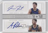 Austin Rivers, Jimmer Fredette /1