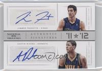 Austin Rivers, Jimmer Fredette /49