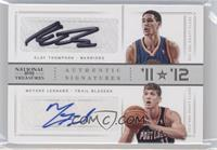 Klay Thompson, Meyers Leonard /49