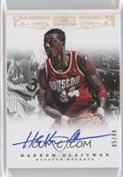 Hakeem Olajuwon /49