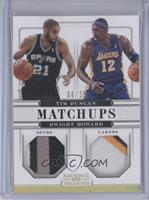 Dwight Howard, Tim Duncan /25