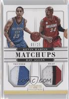 Kevin Martin, Ray Allen /25