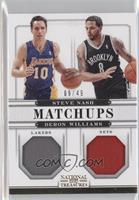 Steve Nash, Deron Williams /49