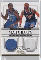 Carmelo Anthony, Kevin Durant /49