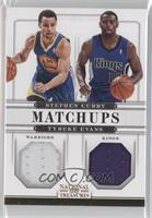 Stephen Curry, Tyreke Evans /49