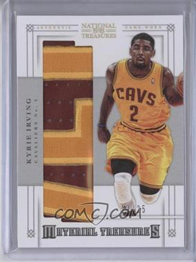 2012-13 Playoff National Treasures Material Treasures Prime #2 - Kyrie Irving /25