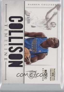 2012-13 Playoff National Treasures Timeline Player Name #13 - Darren Collison /99