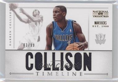 2012-13 Playoff National Treasures Timeline Player Name #13 - Darren Collison /99