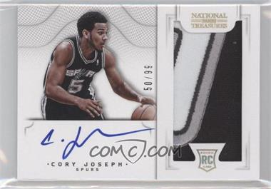 2012-13 Playoff National Treasures #126 - Cory Joseph /99