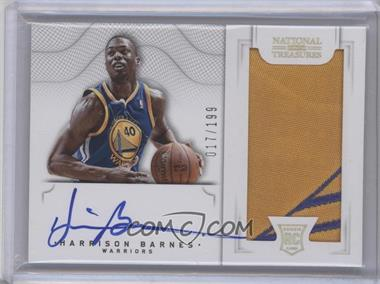 2012-13 Playoff National Treasures #157 - Harrison Barnes /199