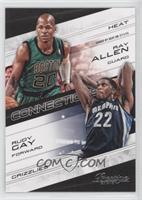 Ray Allen, Rudy Gay