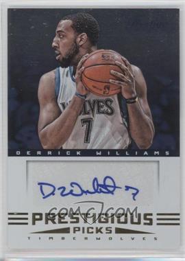 2012-13 Prestige - Prestigious Picks Signatures #2 - Derrick Williams