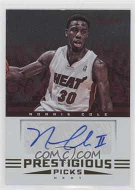 2012-13 Prestige - Prestigious Picks Signatures #25 - Norris Cole