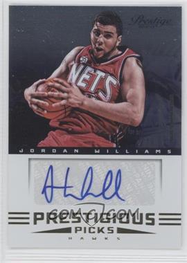 2012-13 Prestige - Prestigious Picks Signatures #30 - Jordan Williams