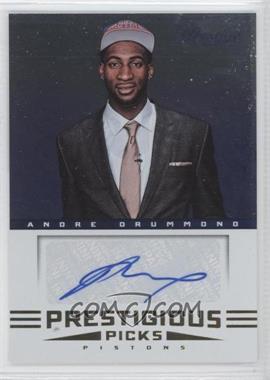 2012-13 Prestige - Prestigious Picks Signatures #53 - Andre Drummond