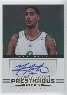 2012-13 Prestige - Prestigious Picks Signatures #66 - Fab Melo