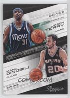 Jason Terry, Manu Ginobili