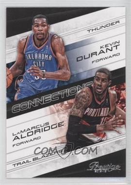 2012-13 Prestige Connections #7 - Kevin Durant, LaMarcus Aldridge