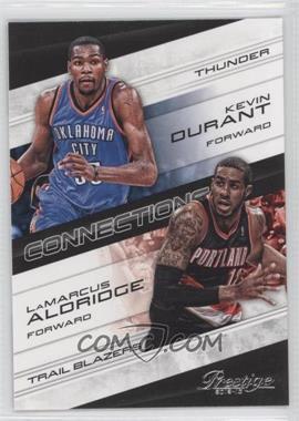 2012-13 Prestige Connections #7 - Kevin Durant, LaMarcus Aldridge