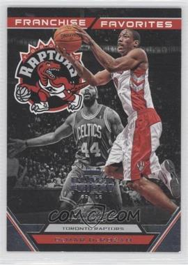2012-13 Prestige Franchise Favorites Black Friday #21 - DeMar DeRozan /5