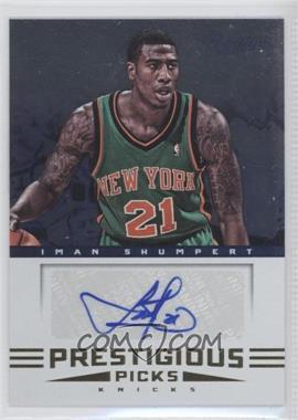 2012-13 Prestige Prestigious Picks Signatures #16 - Iman Shumpert