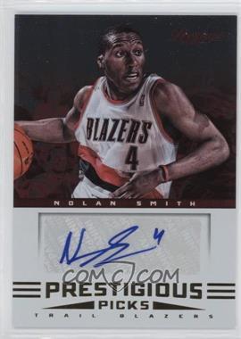 2012-13 Prestige Prestigious Picks Signatures #19 - Nolan Smith