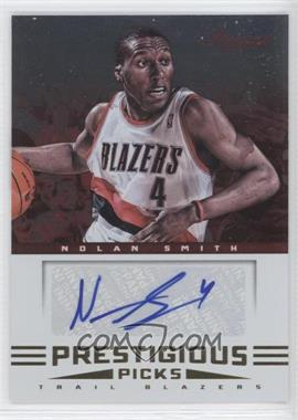 2012-13 Prestige Prestigious Picks Signatures #19 - Nolan Smith