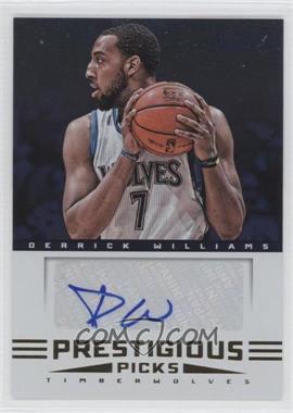 2012-13 Prestige Prestigious Picks Signatures #2 - Derrick Williams