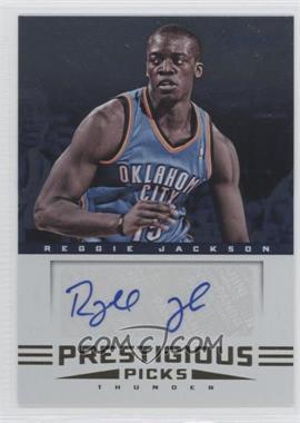 2012-13 Prestige Prestigious Picks Signatures #21 - Reggie Jackson