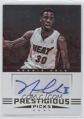2012-13 Prestige Prestigious Picks Signatures #25 - Norris Cole