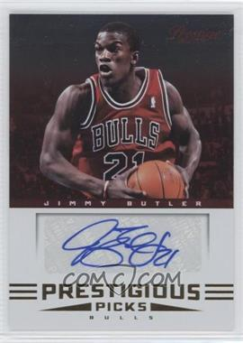 2012-13 Prestige Prestigious Picks Signatures #27 - Jimmy Butler