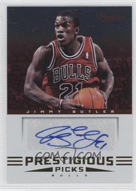 2012-13 Prestige Prestigious Picks Signatures #27 - Jimmy Butler