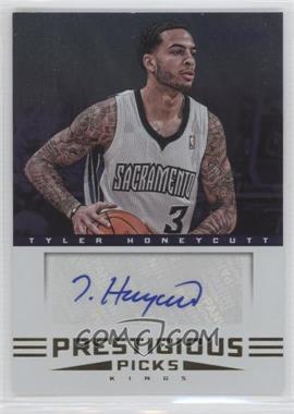 2012-13 Prestige Prestigious Picks Signatures #29 - Tyler Honeycutt