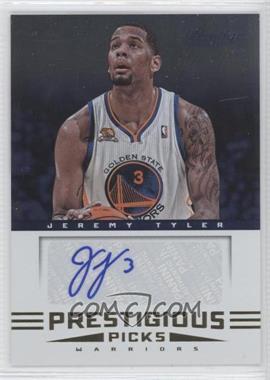 2012-13 Prestige Prestigious Picks Signatures #33 - Jeremy Tyler