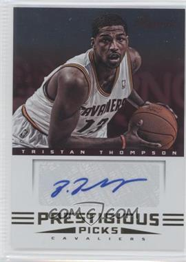 2012-13 Prestige Prestigious Picks Signatures #4 - Tristan Thompson